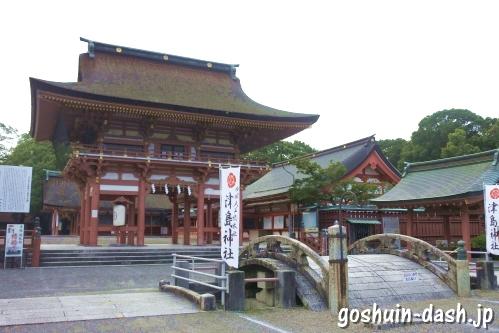 津島神社(愛知県)楼門(国重要文化財)
