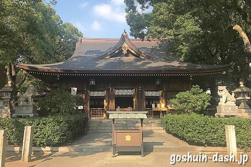 若宮八幡社(名古屋市)拝殿