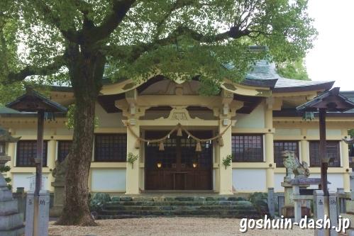 島田神社(名古屋市天白区)拝殿