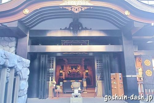 大須万松寺(名古屋市中区)本堂