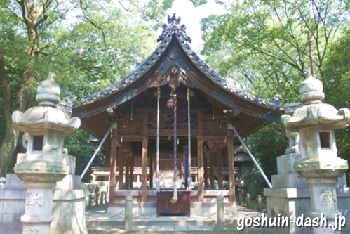 味美白山神社(愛知県春日井市)拝殿