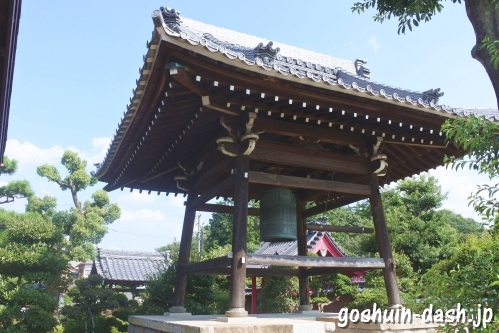 光雲山日輪寺(愛知県春日井市)鐘楼