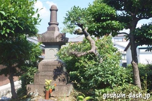 光雲山日輪寺(愛知県春日井市)宝篋印塔