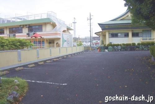 島田神社(名古屋市天白区)駐車場