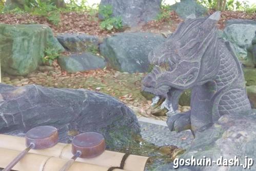 島田神社(名古屋市天白区)手水舎
