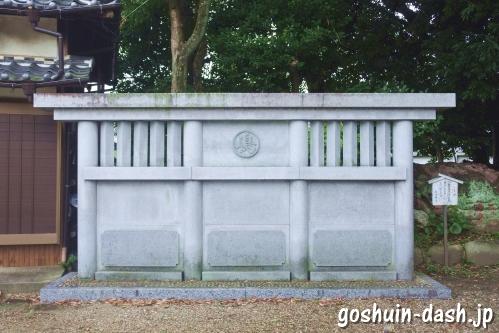 島田神社(名古屋市天白区)蕃塀