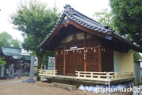 島田神社(名古屋市天白区)神楽殿