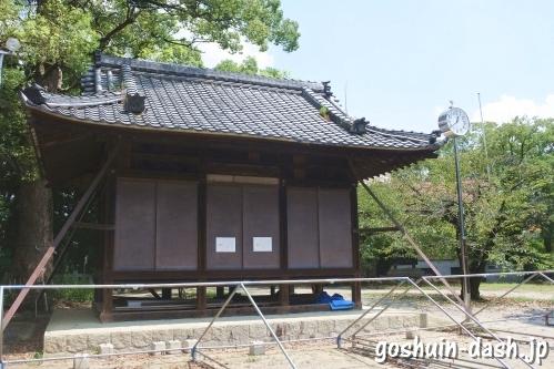 野田八幡宮(愛知県刈谷市)神楽殿