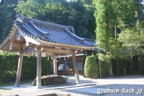 猿投神社(愛知県豊田市)手水舎