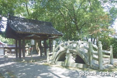 清洲山王宮 日吉神社(愛知県清須市)太鼓橋
