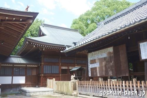 清洲山王宮 日吉神社(愛知県清須市)幣殿