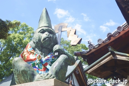 清洲山王宮 日吉神社(愛知県清須市)狛猿
