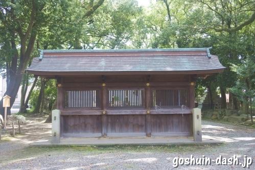 清洲山王宮 日吉神社(愛知県清須市)蕃塀
