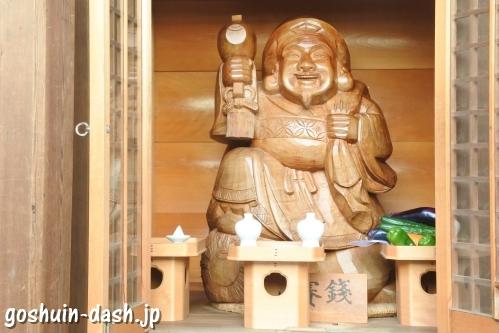 久屋金刀比羅神社(名古屋市東区泉)お摩り大国さん