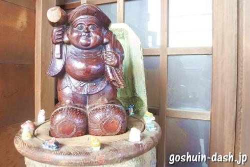 久屋金刀比羅神社(名古屋市東区泉)胎内大国さん