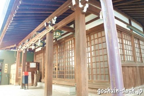 久屋金刀比羅神社(名古屋市東区泉)拝殿