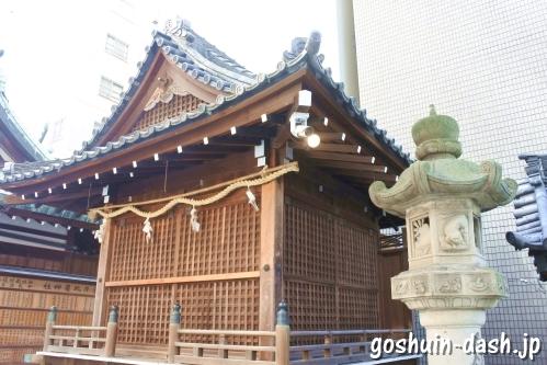 久屋金刀比羅神社(名古屋市東区泉)神楽殿