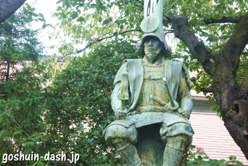 加藤清正公銅像(正悦山妙行寺)