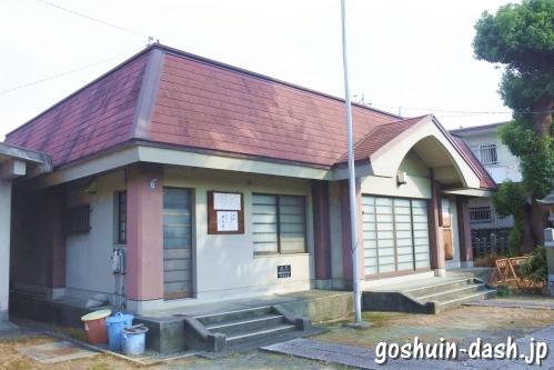 東宿明神社(名古屋市中村区)社務所