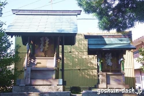 東宿明神社(名古屋市中村区)境内社(秋葉神社・津島神社)