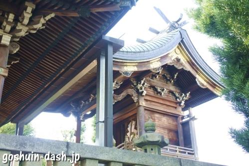 東宿明神社(名古屋市中村区)本殿