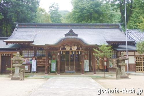 足助八幡宮(愛知県豊田市)拝殿