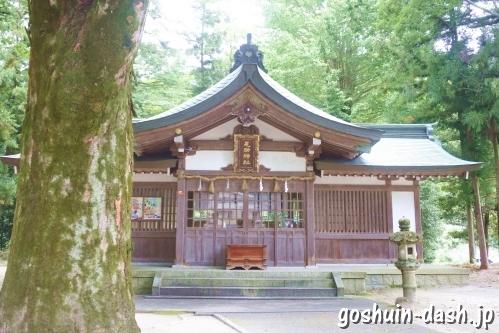 足助神社(愛知県豊田市)拝殿