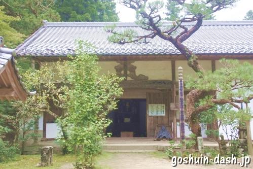 香積寺(豊田市香嵐渓)僧堂