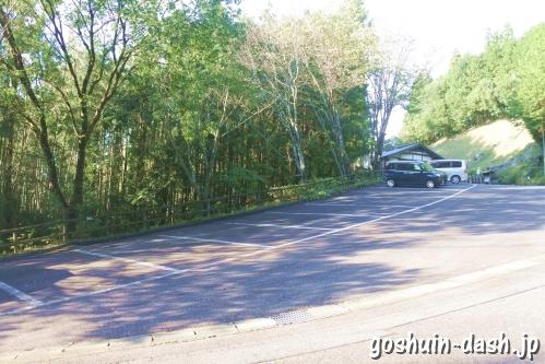 足助城跡公園(愛知県豊田市)駐車場