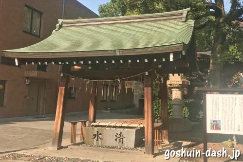 手水舎(名古屋若宮八幡社)