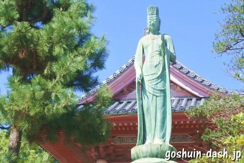 甚目寺観音(愛知県あま市)平和之塔