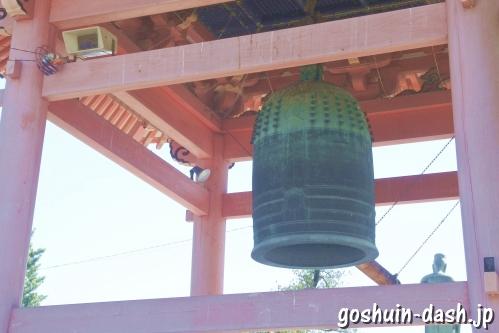 甚目寺観音(愛知県あま市)鐘楼