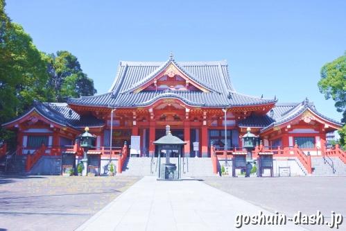 甚目寺観音(愛知県あま市)本堂
