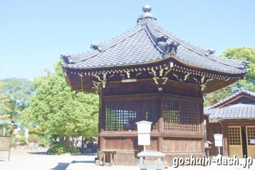 甚目寺観音(愛知県あま市)六角堂