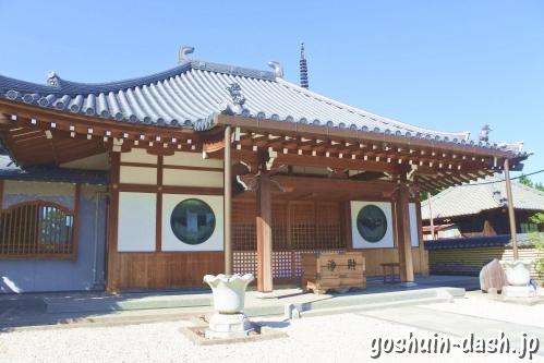 法花院(愛知県あま市)本堂