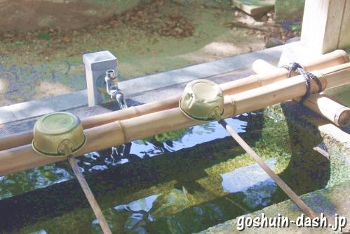 漆部神社(愛知県あま市)手水舎
