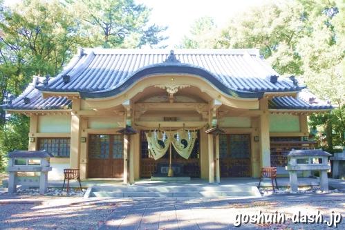 漆部神社(愛知県あま市)本堂