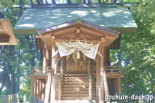 日吉社(あま市甚目寺)本殿
