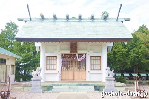 岩崎神明社(愛知県日進市)拝殿(社殿)