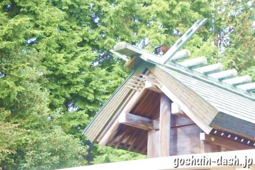 岩崎神明社(愛知県日進市)本殿