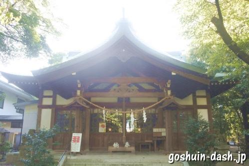 萱津神社(愛知県あま市)拝殿
