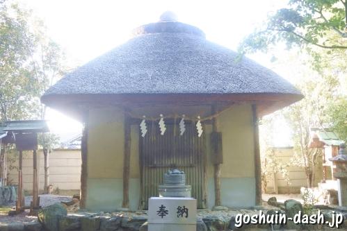 香の物殿(あま市萱津神社)