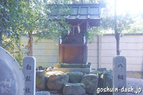 八劔社・白髭社(萱津神社境内社)