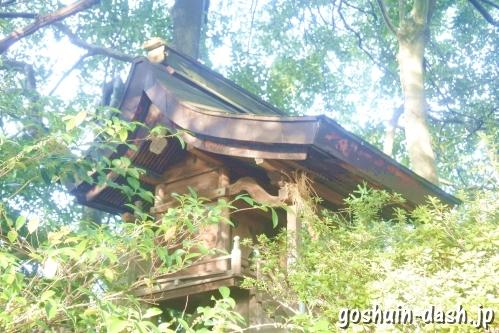 八坂社(愛知県あま市)本殿
