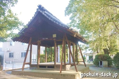 八坂社(愛知県あま市)境内全景