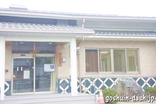 神明社(名古屋市中川区荒子町)社務所(荒子集会所)