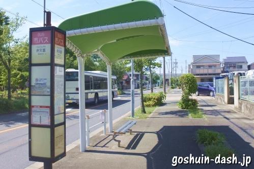 弁天裏バス停(名古屋市バス)