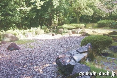 岩崎城(愛知県日進市)二の丸庭園
