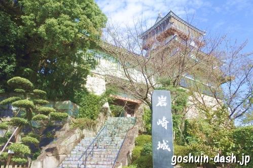 岩崎城(愛知県日進市)南入口