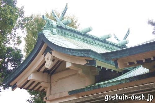 西一社貴船神社(名古屋市名東区)本殿
